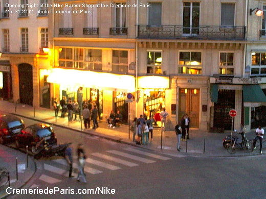 Nike Barber Shop at Cremerie de Paris